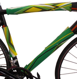BikeWrappers: Green Diamonds