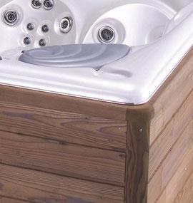 die aussenverkleidung der usspa whirlpools ist aus thermowood thermowood ist holz welches mit. Black Bedroom Furniture Sets. Home Design Ideas