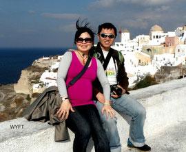 Babymoon in November 2012. Destination: Santorini Island, Greece.