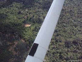Nueva fotografía de una comunidad yanomami aislada.© Survival Brasil.