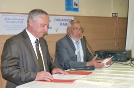 Jacky Padovani et Jean Grazi