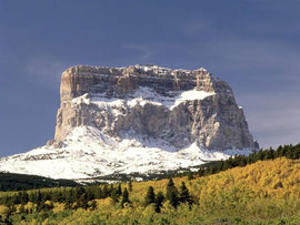 Chief Mountain is a mountain in Glacier National Park.