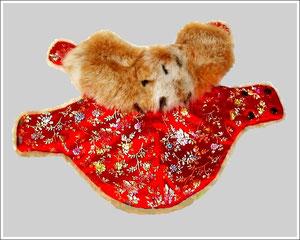 Китайские хохлатые одежда своими руками