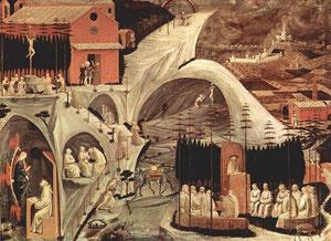 Paolo Uccello, Episodi di vite di eremiti (Tebaide)
