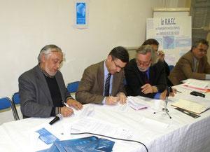 Le protocole a été signé en 2007