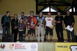 Podium Endurolle 2012