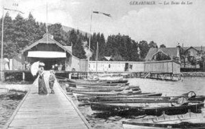 Gérardmer Aviron 19ème siècle
