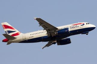 G-EUOD A319-131 1558 British Airways
