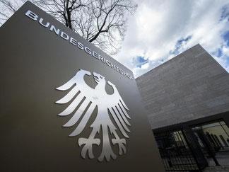 Außenaufnahme des Bundesgerichtshofs in Karlsruhe. Foto: Uli Deck