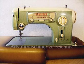 Gritzner GU, Zauber-Automatic, mit Radio-Skala, Flachbett - Fußantrieb, Einbau Unterbaumotor, Anbaumotor mögl. Hersteller: Gritzner-Kayser AG, (Bilder: I. Naumann, M. Obenaus)