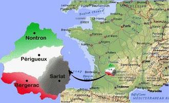 LE PÉRIGORD EN FRANCE