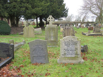 The graveyard dates from the early 18th century.