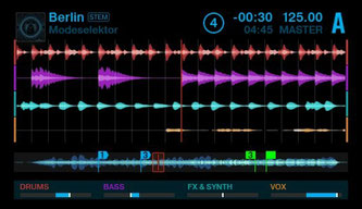 STEMS - il nuovo formato audio Native Instruments Image