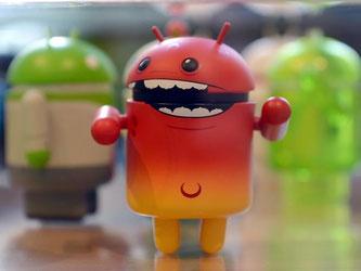 Fiese Angriffe: Millionen Android-Handys sind über mehrere Sicherheitslücken angreifbar für Hacker. Foto: Britta Pedersen