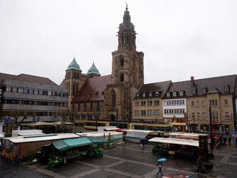 Blick auf die Heilbronner Kilianskirche. Foto: Sebastian Kahnert/Archiv