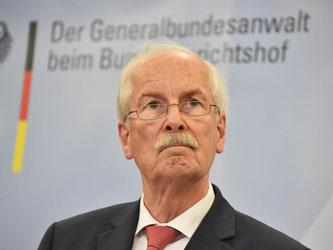 Generalbundesanwalt Harald Range ist seit 2011 Deutschlands Chefermittler. Foto: Uli Deck