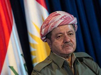 Massud Barsani ist Präsident der kurdischen Autonomieregion im Nordirak. Foto: Maja Hitij/Archiv