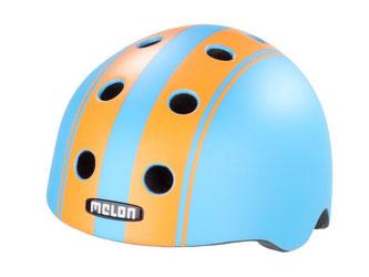 Gute Stoßdämpfung und akzeptable Lüftung: So überzeugt der Melon Urban Active. Der Fahrradhelm ist der Testsieger. Foto: Stiftung Warentest