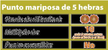 punto mariposa tejiendoperu.com
