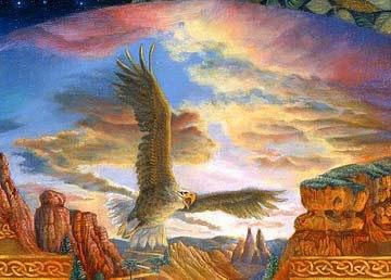 Mandala Eagle