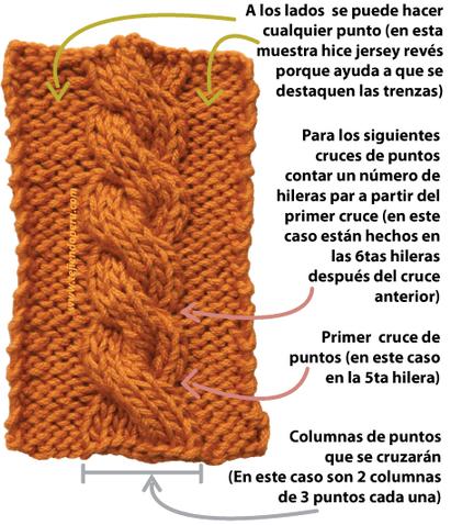 trenzas ocho cuerdas tejiendoperu.com