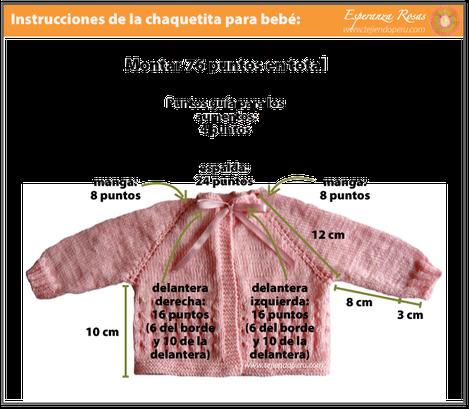 chaqueta bebe tejiendoperu.com