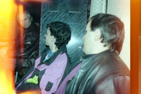 PARTE IZQUIERDA AL FONDO, EA2CSB ATILA PEDRO-EA2EAL ATILA1 OSKAR- BUFALO  PACO