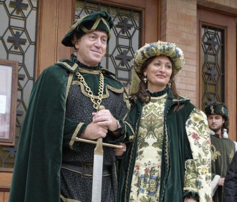 Il Conte e la Contessa del 60° Carnevale