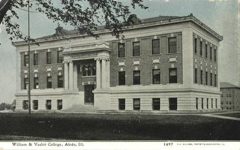 William & Vashti College, Aledo, Ill. (1908-1918)