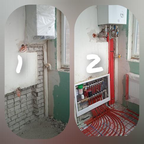 Фото схема отопления квартиры