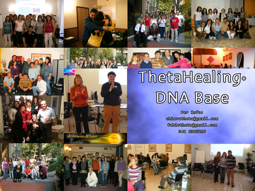ROMA -ThetaHealing® Livello BASE con AbbracciodiLuce 6, 7 e 8 Novembre