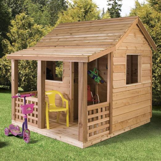 Как сделать детский деревянный домик своими руками