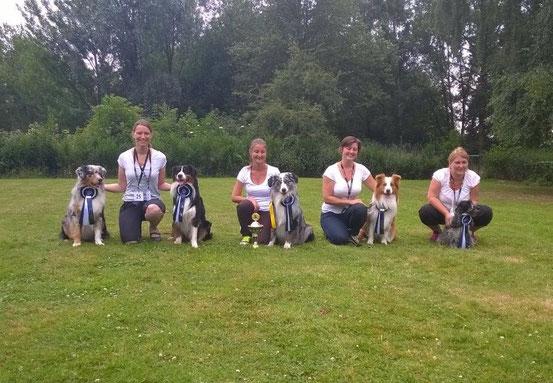Drover, Carina & Ty, Stefie & Tane, Marina & Simba, Ich & Paul - Bild v. Carola Schildmacher