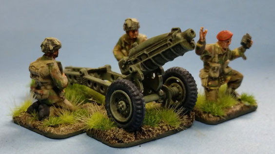 British Paratroopers with Pack Howitzer WWII von Waterloo1815 Image