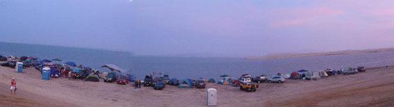 fast ein gutes panoramabild vom camping ort.