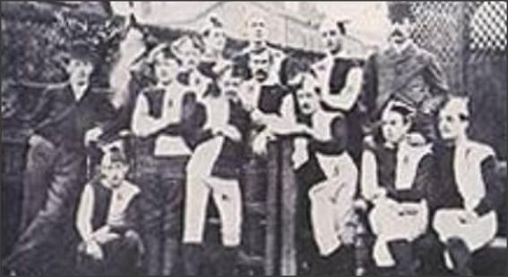 Blackburn Rovers; Blackburn Rovers shirt 1878