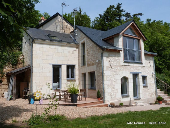 Ferienhaus an der Loire für 2-6 Personen - La Belle Etoile, Gennes, Saumur