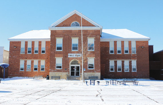 The Bellevue Elementary School, which once served as the county courthouse, may be the oldest school building still in use in the state of Iowa