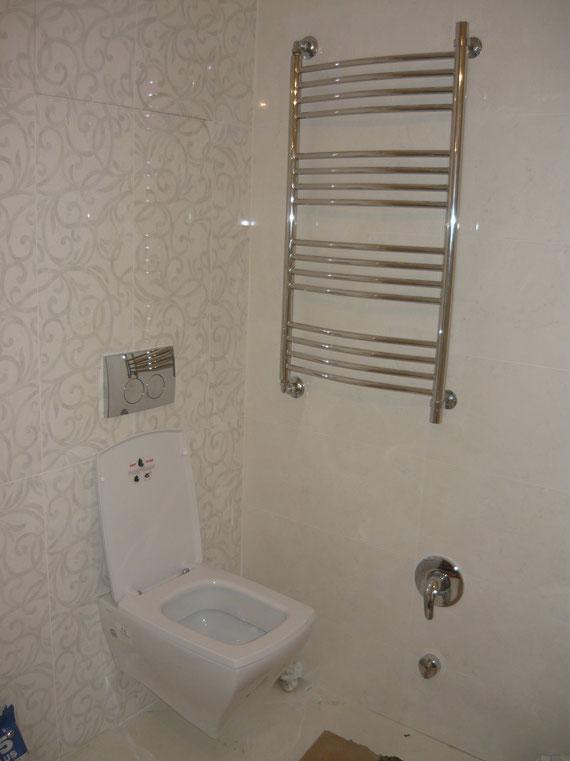 Инсталяция +встроенный гигиенический душ