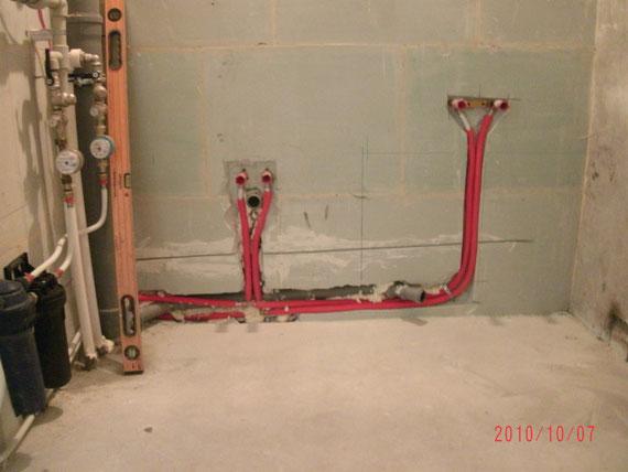 Разводка воды в квартире