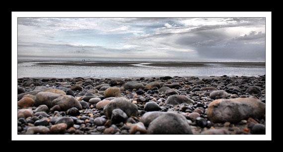 L'extrème sud de la baie de Somme au Hourdel