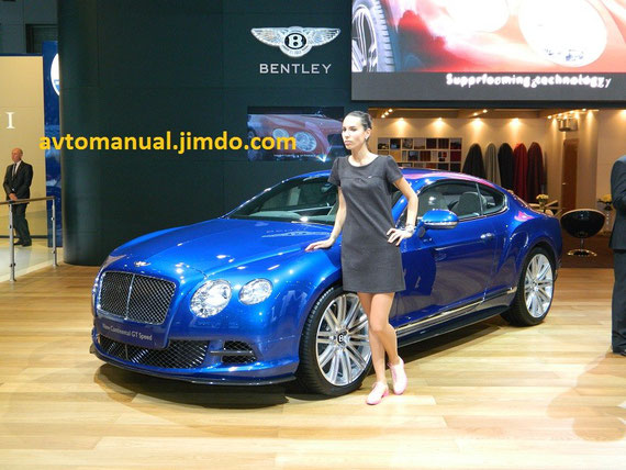Bentley Continental GT Speed ММАС-2012