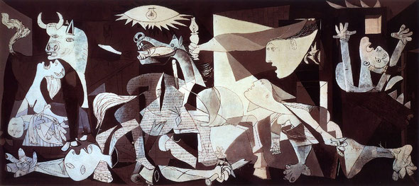Mostra Picasso Milano Guernica