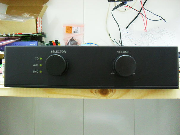 PA-100 prototype with separate power supply.
