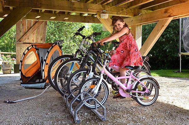 Les vélos et la carriole
