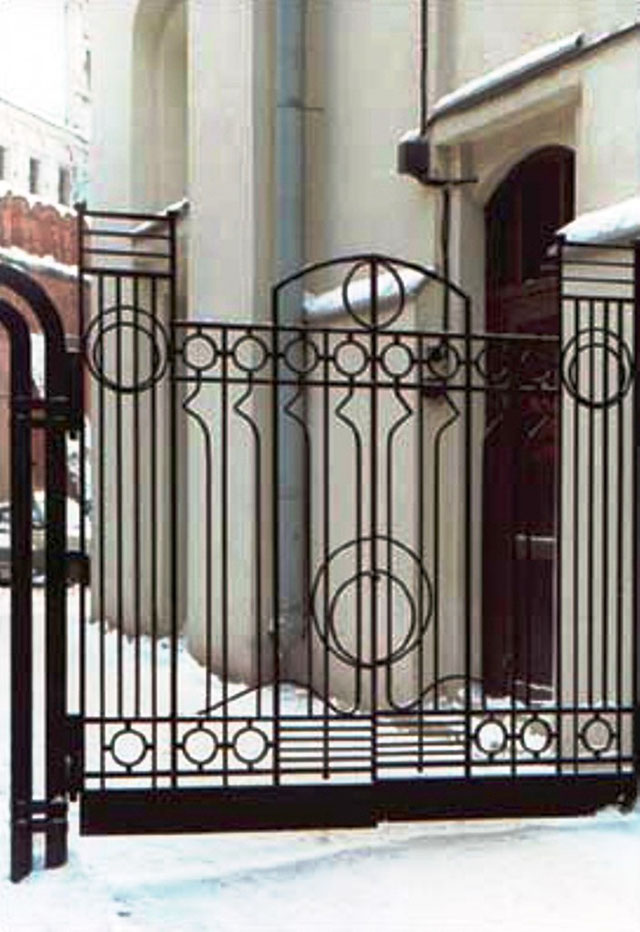 купить кованые ворота в саратове