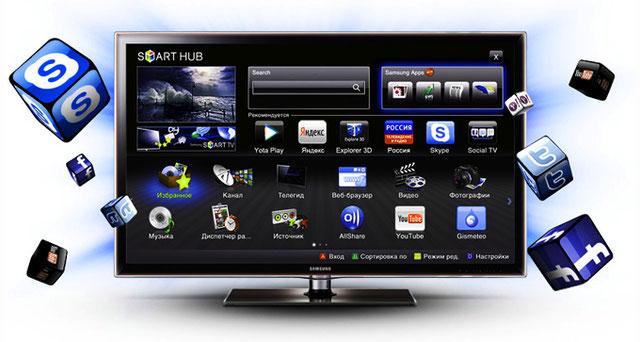 Как сделать смарт тв из телевизора самсунг