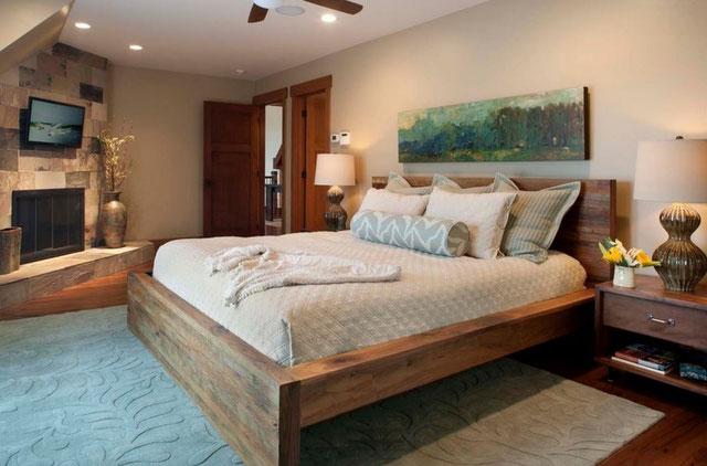 Дизайн спальни кровати