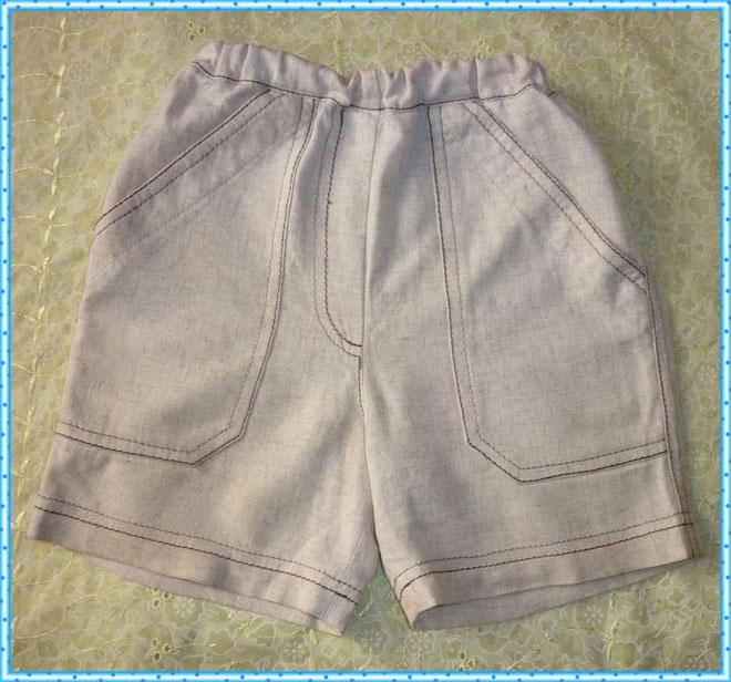 Как самому сшить шорты для мальчика 64