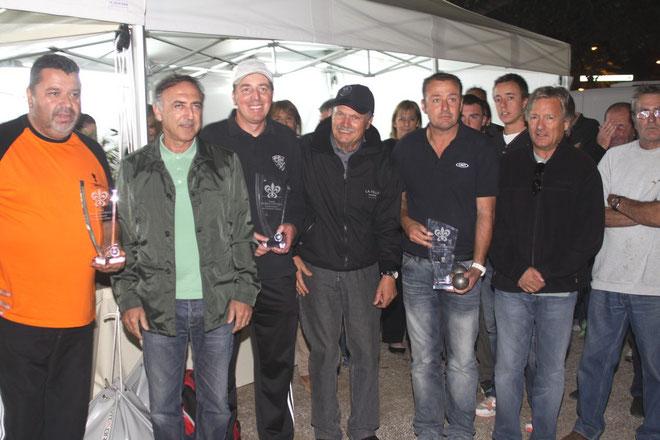 Les vainqueurs . (Photos Jean-Paul Lottier)